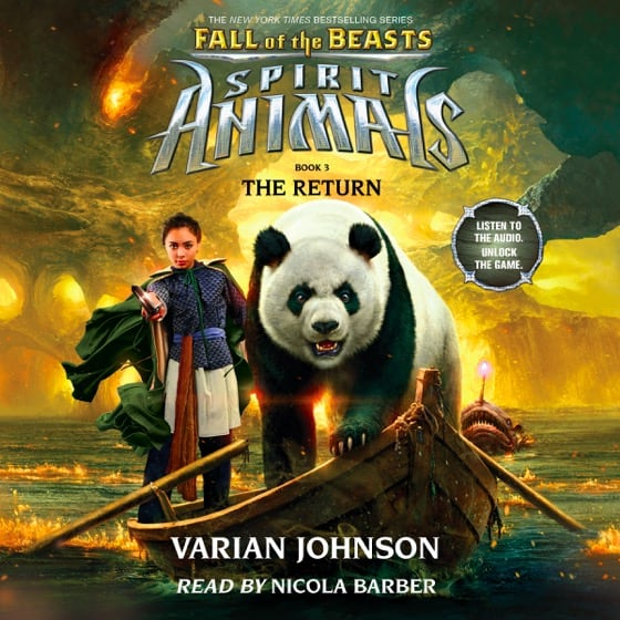 Spirit Animals: Fall of the Beasts Book 3: The Return