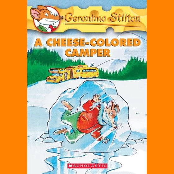 Geronimo Stilton #16: A Cheese Colored Camper