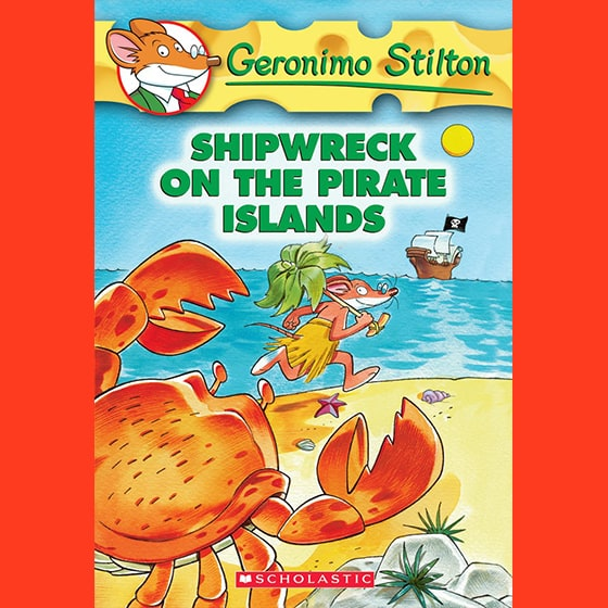 Geronimo Stilton #18: Shipwreck on the Pirate Islands