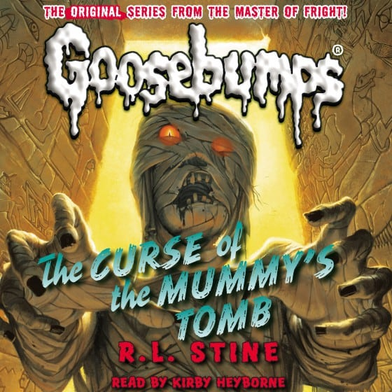 Goosebumps #5: The Curse of the Mummy's Tomb