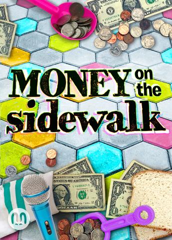 Money on the Sidewalk